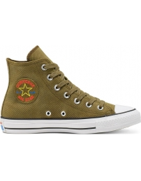 Converse tênis all star chuck taylor retrograde hi jr