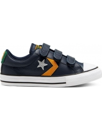 Converse tênis star player leather twist easy-on ox k