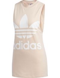 Adidas camiseta alças trefoil tank w