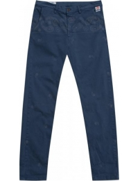 Franklin marshall calça uniform blue