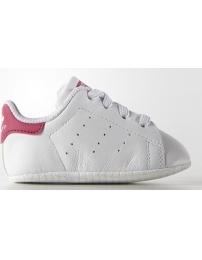 Adidas sapatilha stan smith crib