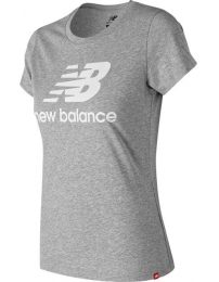 New balance camiseta essentials stacked logo w