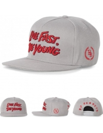 Boombap live fast die young gorra