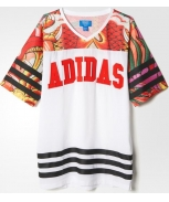 Adidas vestido dragon print rita ora